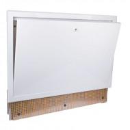 Коллекторный шкаф с замком Icma 500 встроенный №196