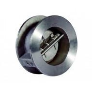 Клапан обратный двухстворчатый UKSPAR DDSCV-16SS Ду 50 Ду 50