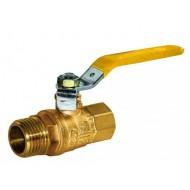 Кран шаровый для газа UKSPAR Арт. 2420 Ду 15 Ду 15
