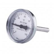 Термометр для антиконд. клап. ICMA 134 0-120 С
