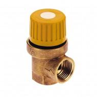 Предохранительный клапан для гелиосистемы ICMA S121 6 bar 1/2