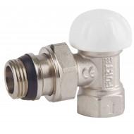 Клапан запорный радиаторный SD Forte SF233 Powerful угл. с антипротеч. 1/2