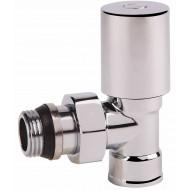 Вентиль радиаторный SD Forte SF236 хром угл. с антипротеч. 1/2