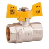Кран шаровый газовый SD Plus SD602N ВВ