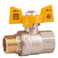 Кран шаровый газовый SD Plus SD607N ВН