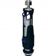 Сливной клапан type 240, двойной смыв, хром глянцевый