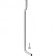 Колено смыва Geberit 90°, в комплекте, с отступом: d=50мм, A=6см, Альпийский белый