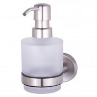 Kosmos TEC Емкость д/жидкого мыла (стекло) (402416)