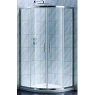S90RC Душевая кабина STYLE полукруглая 900x900x1900 мм стекло прозрачное