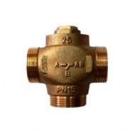 Смешивающий термостатический клапан 35-60°С (Вывод по центру) Gross 3/4