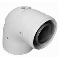 Отвод Protherm 60/100 мм 87° (турбо) с инспекционным отверстием