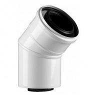 Концентрический отвод Protherm 80/125 мм 45° (турбо)