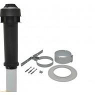 Комплект для горизонтального прохода сквозь стену Protherm 60/100 мм телескопическая труба