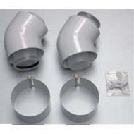 Отвод 45° Protherm 60/100 мм 45° (2 шт.)