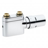 Клапан под термоголовку+ термоголовка RAX с двухточечным подключением Danfoss VHX-DUO хром 1/2'' прямой