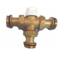 Термостатический 3-ходовой зонный клапан с функцией разделения потока Gross 1