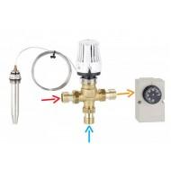 Термостатический регулировочный комплект с термостатом (KIT) Emmeti Fiv 1
