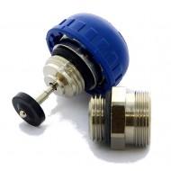 Комплект запорно-регулир. клапана (стопорного устройства) с колпачком (красный) Emmeti Fiv 01306300