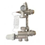 Смешивающий блок для систем теплого пола Gross CVS PV-0101 1