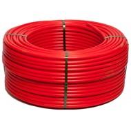 Труба из сшитого полиэтилена PE-Xb красная Gross 16x2